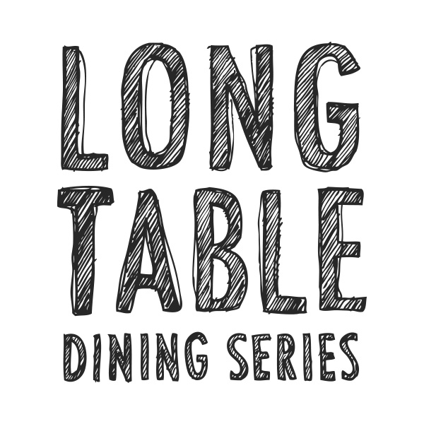 Long table dinner in Cowichan