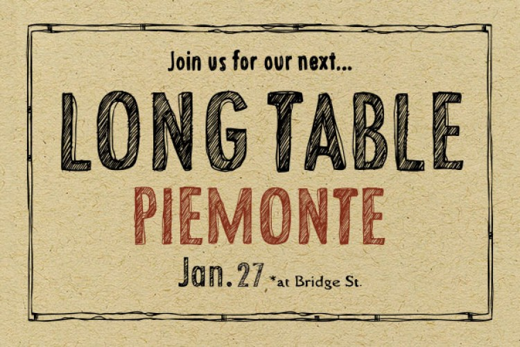 Long Table Dining at Prima Strada Bridge