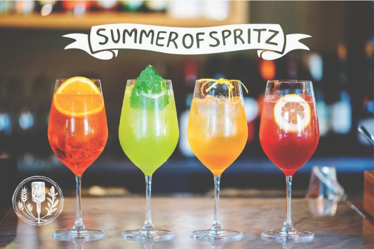 Summer Spritz, spritzes are back, Prima Strada cocktails