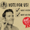 Vote prima strada, best pizza, best of the city, best kid friendly, black press, Victoria news